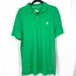 Large Express polo two button